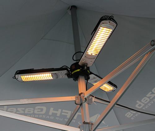 3-Way Parasol Heater