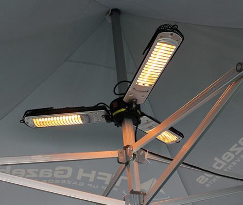 3-Way Parasol Heater