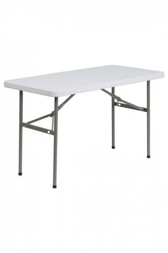 4' Plastic Trestle Table