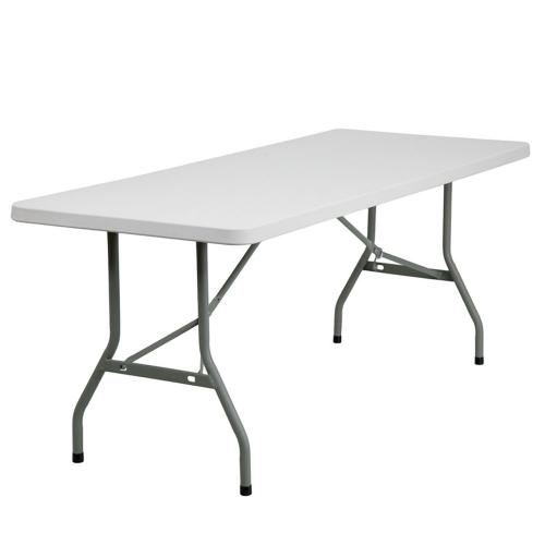 6' Plastic Trestle Table