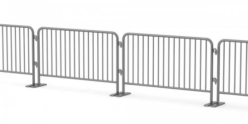 Metal Crowd Barriers